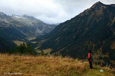 Val de Ruda con el Tuc de Ratera al fondo, Val d'Aran