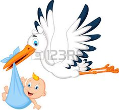 Illustration about Illustration of Cartoon stork carrying baby. Illustration of child, cartoon, gift - 39820108 Baby Silhouette, Baby Baby Baby Oh, Baby Boy Newborn, Baby Drawing, Drawing For Kids, Funny Dolphin, Outside Baby Showers, Cartoon Chicken, Bunny Painting