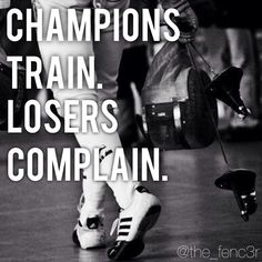 Follow Us On Instagram @the_fenc3r, or, Like us on facebook ( The Fenc3r ) For more Fencing Motivation !!!