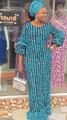 African Dresses For Kids, Latest African Fashion Dresses, African Dresses For Women, African Print Fashion, African Attire, Traditional African Clothing, Vogue, Gown, Collections