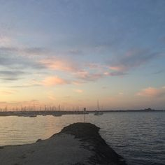 First taste of summer and we're all a bit insta-excited. That sky tho  #geelong #easternbeach #sunset #skyporn #spring #clouds by missdenniilee http://ift.tt/1JtS0vo