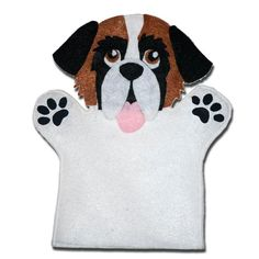 (11) Name: 'Other : Saint Bernard Felt Patch and Hand Puppet