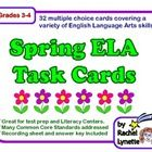 Here are 32 spring-themed, multiple choice task cards that cover a variety of English Language Arts skills and standards. Each skill is presented w...