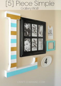 5 Piece Gallery Wall