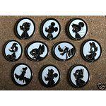 disney silhouette pins | Disney Pins
