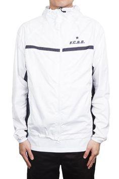 F.C.R.B Packable Practice Jacket White #FCRB #FCREALBRISTOL #SS16 #SURRENDERSTORE #SURRENDEROUS