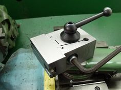 Quick Change Tool Post by BaronJ -- Homemade quick change tool post intended for a Myford lathe. Machined from bright mild steel. http://www.homemadetools.net/homemade-quick-change-tool-post-9