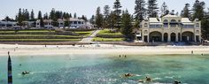 Guide to Cottesloe Beach, Perth - Tourism Australia Cottesloe Beach, Golf Tour, Farm Stay, Next Holiday, Enjoy Summer, Western Australia, Wine Country, Snorkeling, Perth