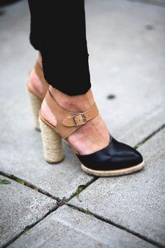 gorgeous espadrille heels