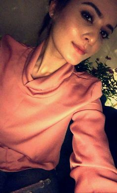 Aiman Khan Selfie Moment on Snapchat!