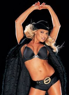Former #WWE Diva Trish Stratus http://hubpages.com/sports/Female-Wrestling-The-History-of-the-Divas-2