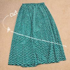 DIY: High-Low Skirt | The Fashion Spot  http://www.thefashionspot.com/style-trends/news/173735-diy-high-low-skirt