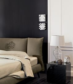 Customize your headboard with embroideries and make it truly unique! <3