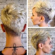 Image result for funky undercut hairstyles for curly short hair women