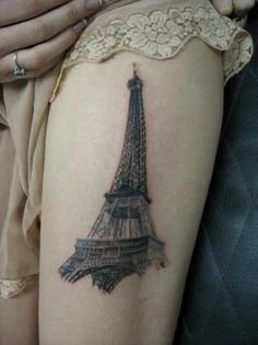 1000 images about tattoos on pinterest eiffel tower for Paris tattoos charlotte
