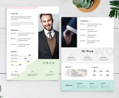 Graphic Designer CV Template for creative professionals. One of the best Resume templates to attract the employer the most. This CV template was professionally Resume Design Template, Best Resume Template, Cv Template, Design Templates, Graphic Resume, Graphic Design Resume, Layout Cv, Resume Words Skills, Web Design