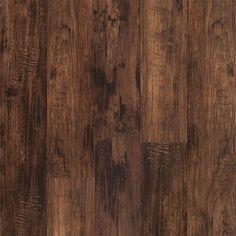 5mm w/pad Homeland Hickory Waterproof Rigid Vinyl Plank Flooring 7.56 in. Wide x 48 in. Long Basement Flooring, Vinyl Plank Flooring, Hardwood Floors, Engineered Vinyl Plank, Lumber Liquidators, Waterproof Flooring, Luxury Vinyl Plank, Grey Oak, Subtle Textures