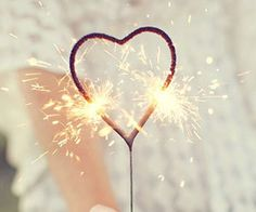 Heart Shaped Sparklers Set of 6 Per Box | Wedding Sparklers | Party Decor | Wedding Favors | Wedding Decoration | Valentines Day Decor