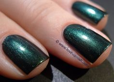 * China Glaze Gussied Up Green | Fall 2008 Rodeo Diva Collection | Love Varnish