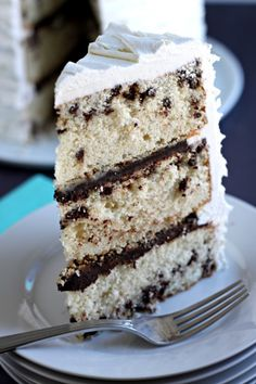 Chocolate Chip Cake @createdbydiane