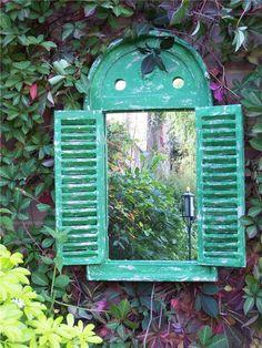 20 υπέροχες ιδέες για να βάλετε τους καθρέφτες στον κήπο! | Φτιάξτο μόνος σου - Κατασκευές DIY - Do it yourself
