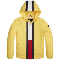 Shop boys' jackets and coats from Tommy Hilfiger. Nike Jacket, Rain Jacket, Striped Jacket, Boys T Shirts, Tommy Hilfiger, Windbreaker, Unisex, Kids, Jackets