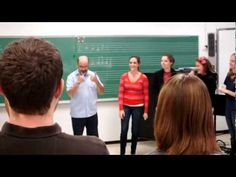 This singing game, performed by elementary general methods students, led to some interesting improvised verses!  The excerpt taken from this song leading lesson shows how we were working through the changing meter, the cumulative nature of the music, triple meter versus duple meter, improvising, and singing.  The approach for teaching this song ...