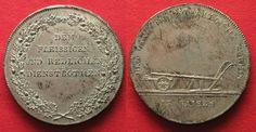 1810 Bayern BAVARIA Prize Thaler ND(1810) MAXIMILIAN I JOSEPH silver UNC!!! # 93913 UNC