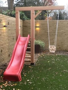 Douglas schommel Pluto rood Www douglas-style nl Kids Outdoor Play, Outdoor Play Areas, Backyard For Kids, Backyard Projects, Outdoor Projects, Backyard Patio, Small Backyard Landscaping, Landscaping Tips, Diy Projects