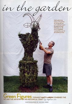 Topiary from House + Garden.