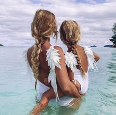 You owe it to yourself to become everything you've ever dreamed of being💕 📸: Baby Barbie, My Beautiful Daughter, Do You Believe, Mommy And Me, Instagram Fashion, Beachwear, Bikinis, Swimwear, Photo And Video