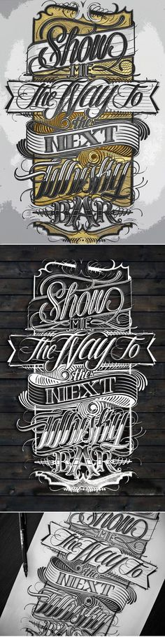 """Show me the way..."" by Mateusz Witczak https://www.behance.net/gallery/7103795/Show-me-the-way"