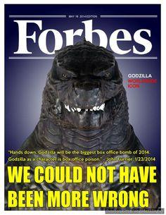 The Lighter Side of Godzilla 2014