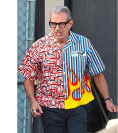 17 Pictures Of Jeff Goldblum As The Printed-Shirt Daddy Of Your Dreams 50 Fashion, Mens Fashion, Street Fashion, Designer Clothes For Men, Clothes For Women, Unisex Looks, Parisian Girl, Fire And Desire, Streetwear