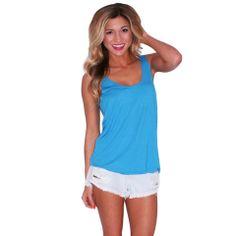 PIKO Tank Bright Blue | Impressions  New summer goodies at www.shopimpressions.com!