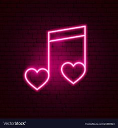 Love music neon sign vector image on VectorStock Purple Wallpaper Iphone, Iphone Wallpaper Tumblr Aesthetic, Music Wallpaper, Iphone Background Wallpaper, Neon Wall Signs, Neon Light Signs, Cool Neon Signs, Neon Sign Art, Pink Neon Sign
