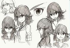 Worshiping Satsuki's eyebrows