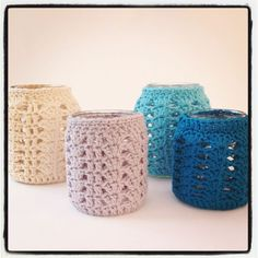 candle light holders - covers for mason jars