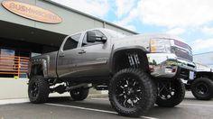 Bushwacker-fender-flares-Chevrolet-2500-HD-Build