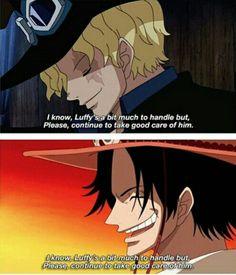 DON'T MAKE SABO DIE LIKE ACE DID!!!! PLEASE ODA, DON'T DO THAT.