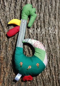 Rooster key holder by CieloBluHandcrafts on Etsy