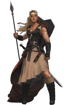 7th Sea 2e Character: Woman from Vestenmennavenjar (credits to John Wick Presents)
