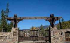 texas ranch gate entrances   The Entry Gate at Daley Ranch makes a bold statement. You'll know that ...
