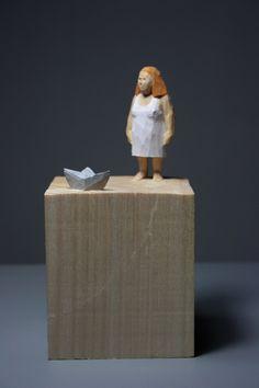Holzskulptur, Skulptur, Schnitzen, Figur, Kunst, sculpture, wood, art, Holzbildhauerei, woodcarving, von tillamessermann auf Etsy