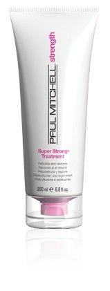 Super Strong Treatment Süper Güçlendirici Maske Super Strong Complex, proteinler ve lipidler ile formüle edilmiş haftalık güçlendirici bakım maskesi. Saçın iç yapısına nüfuz ederek yıpranmış saçları yapılandırır ve onarır.