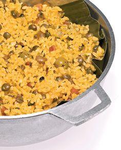Arroz con Gandules Rice with Pigeon Peas