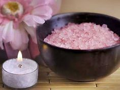 The Herbalist: simple bath salt recipe - look at caption under photo