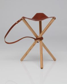 Folding Tripod Stool Would Also Be Excellent For A Boy
