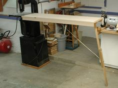 The Sorted Details: Bandsaw Outfeed Table