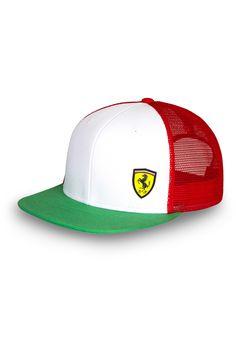 Czapka Ferrari Tricolore Cap   FERRARI ACCESSORIES   Fbutik   Scuderia Ferrari Collection